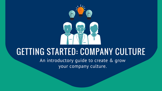 getting started company culture